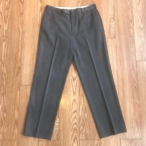 Brooks Brothers Wool Madison Fit Gray Dress Pants